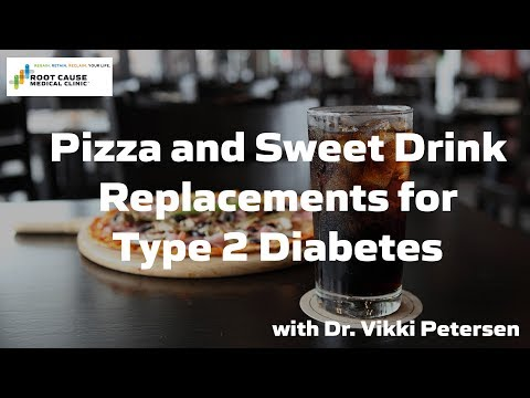 Pizza and Sweet Drink Replacements for Type 2 Diabetes