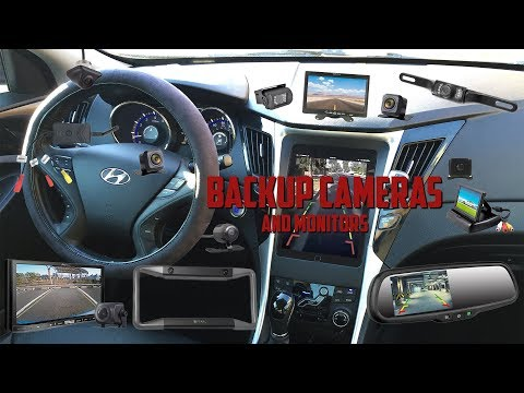 Adding a Backup Camera and Monitor - Comparing the options!