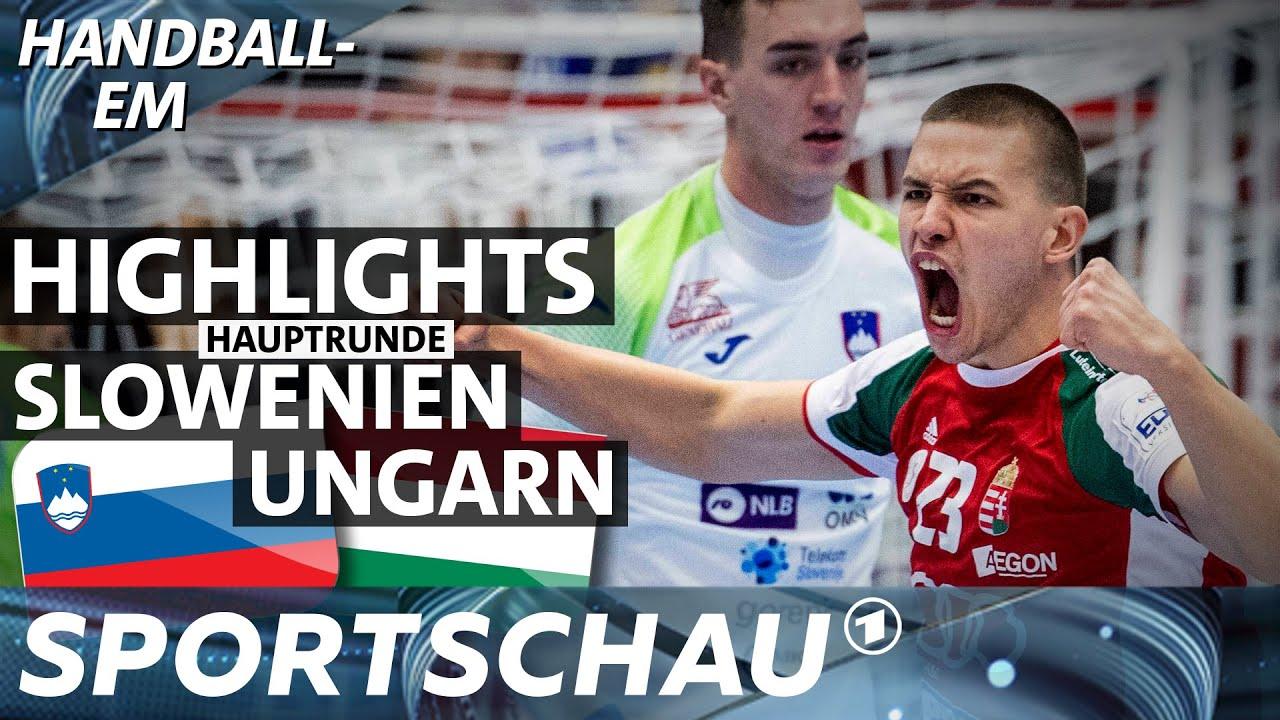 Slowenien gegen Ungarn - die Highlights | Spielbericht | Handball-EM | Sportschau