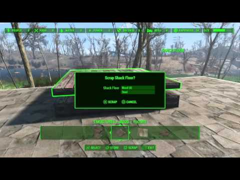 HOW TO LEVEL UP FAST IN FALLOUT 4 (Crafting)