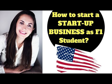 HOW TO START A START-UP BUSINESS AS F1 STUDENT🇺🇸🙋