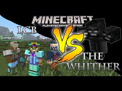 Minecraft PS3 Not So Epic Wither Boss Battle