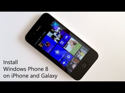 How to install Windows Phone 8 on iPhone and Galaxy (and all other Android)