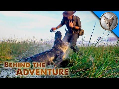 Nail Biting Alligator Encounter!
