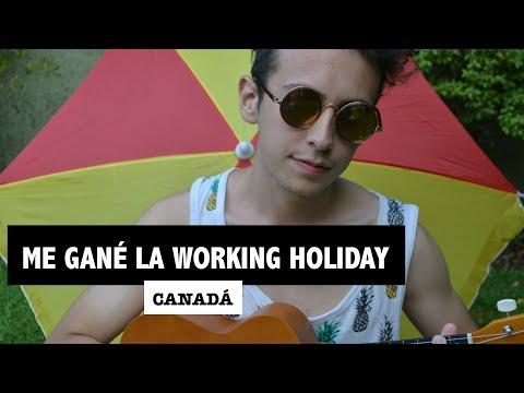 Me gane la WORKING HOLIDAY CANADA 🎉🇨🇦