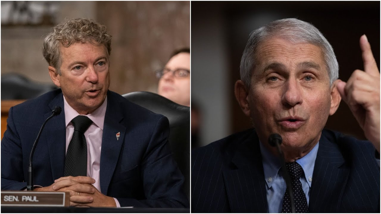 Fauci to Rand Paul: 'You are not listening'