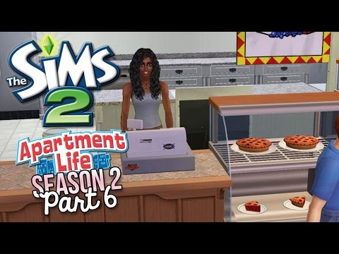 Let's Play | The Sims 2 Apartment Life [S2] Part 6 - Bakery!! - w/Commentary