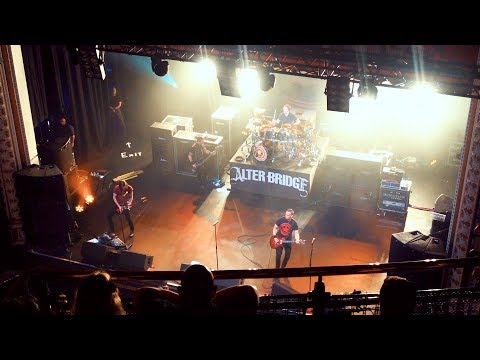 Watching Alter Bridge at the Olympia Theatre