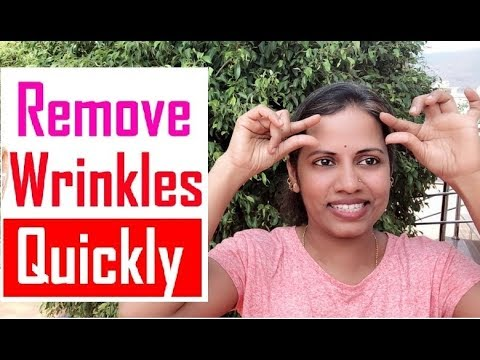 How to REMOVE WRINKLES From Your FACE and FOREHEAD, Neck and MOUTH