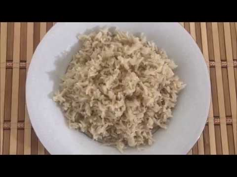 How to cook Brown Basmati Rice in a Rice Cooker