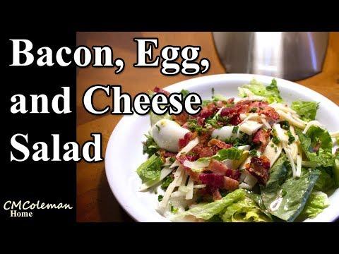 Bacon, Egg, and Cheese salad