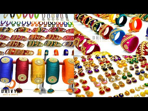 Never Seen before Biggest Silk thread Jewellery Collection at One Place