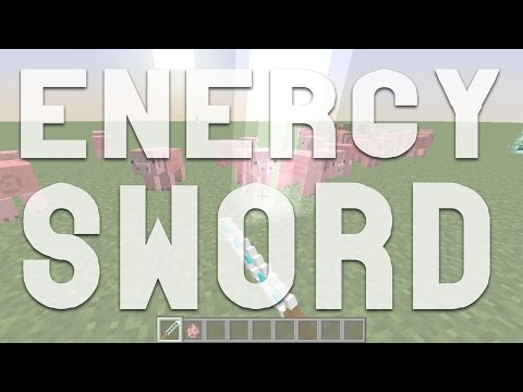 Minecraft | Energy Sword | Mod Showcase!