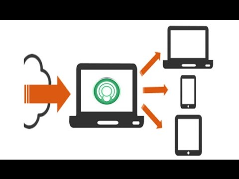 How to share internet connection from pc to mobile phone