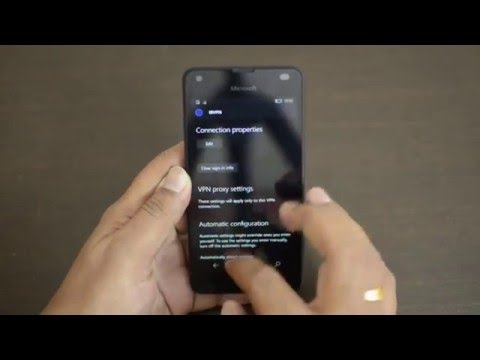 VPN on Windows 10 Mobile- How to set up