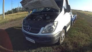 Mercedes Sprinter W906 swap 3 0TD OM606 przekładka zamiana