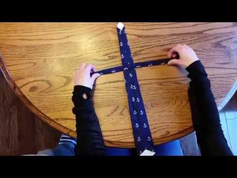 How to Adjust length of pre-tied children's necktie