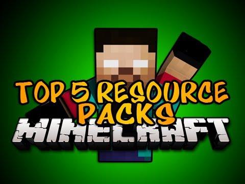 Minecraft: Top 5 Resource Packs 1.7.2 [Texture Packs]