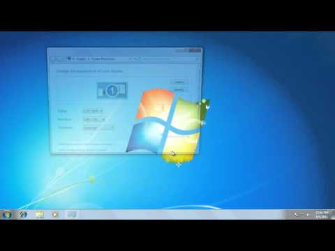 Tech Support: Adjusting Images and Text in Windows 7