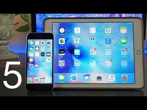 Apple iOS 9: Beta 5