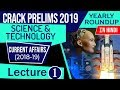 Upsc Cse Prelims 2019 Science Amp Amp Technology Current Affairs 2018 19 Yearly Roundup Set 1 हिंदी में