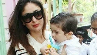 Taimur Ali Khan First Day At School With Mommy Kareena Kapoor
