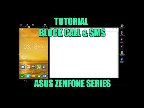 Tutorial Block Call & SMS Asus Zenfone