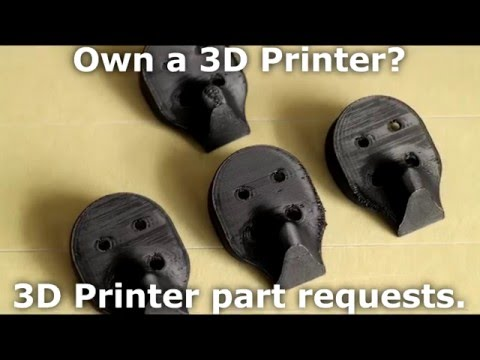 Own a 3D Printer? Prepare for 3D Print Requests...