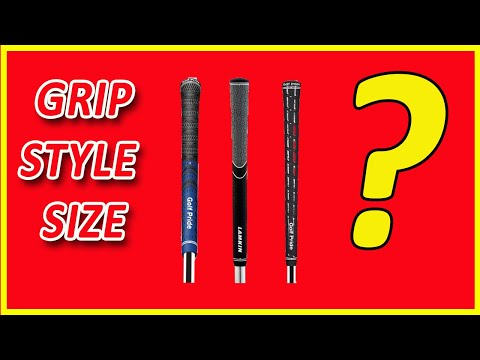 Choosing Golf Grips And How To Establish The Correct Size