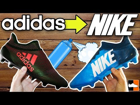 How To Make adidas Boots into Nike!