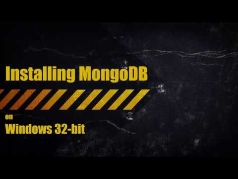 Installing MongoDB on Windows 32-bit (Resolving storageEngine problem)
