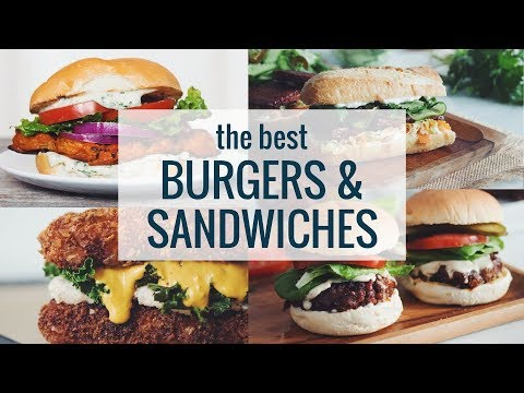 THE BEST BURGERS & SANDWICHES (VEGAN) | hot for food