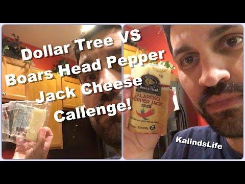 The Dollar Tree vs. Boars Head Pepper Jack Cheese Challenge!