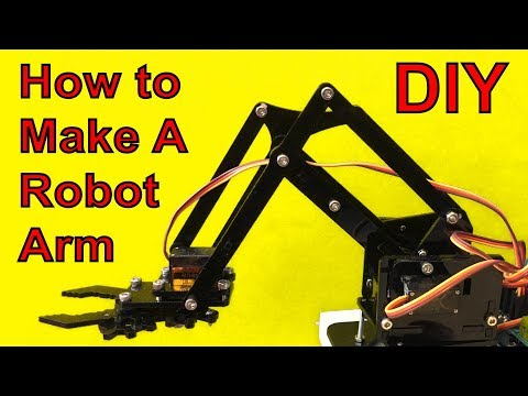 How to Make A Robot Arm (Sponsored video)