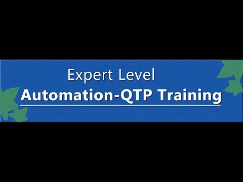 QTP Tutorial 122 :   QTP VBScript Programming Part 1 |QTP Tutorial for Beginners.