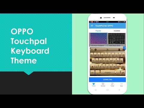 How to Change Keyboard Theme in OPPO