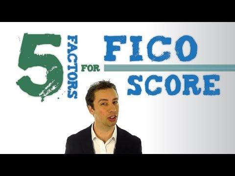 The 5 Factors That Determine Your FICO Score | Family Credit Repair