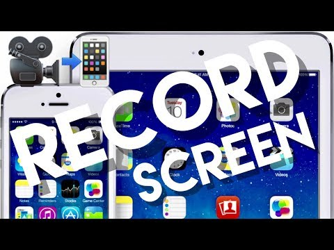 HOW TO RECORD YOUR SCREEN On iPhone and iPad!! Easy Tutorial Guide