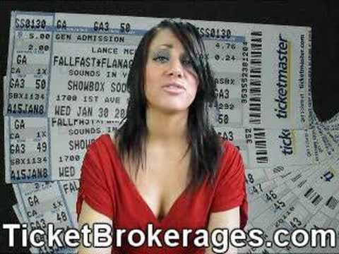 Ticket Broker Business - make money buying & selling tickets