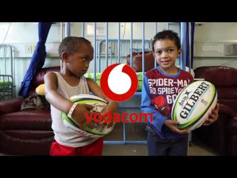 Vodacom #Tries4Smiles - the DHL Stormers Hospital Visit