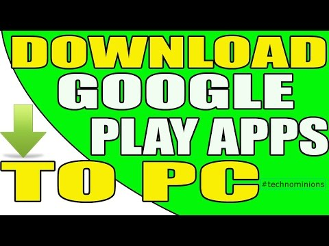 How to Download App from Play Store to Your PC😍😍
