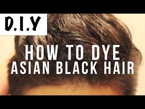 How To Dye Asian Black Hair Brown   Mens Hair DIY   Virgin Hair (WITHOUT BLEACH!)