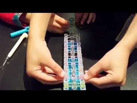 How to make a Ladder Bracelet on Rainbow loom