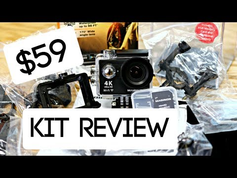 Cheap GoPro Hero Alternative | HUGE Unboxing Test and Review | Aldi Maginon AC-777 Review