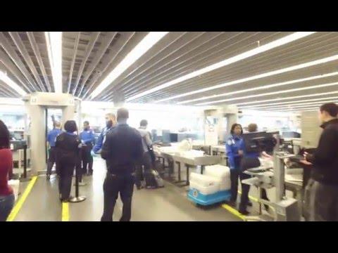 Bringing a Drone Through an Airport