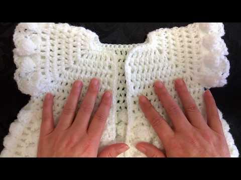 My Dora E Smith 1931 crochet cardigan pattern sample