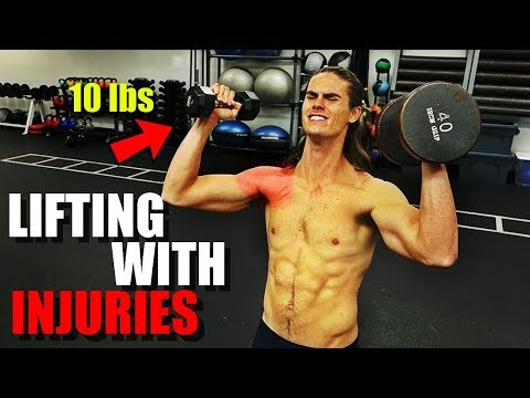 Best Way To Workout With An Injury