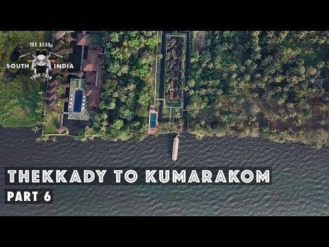 Thekkady to Kumarakom - South India Bike Tour - Part 6