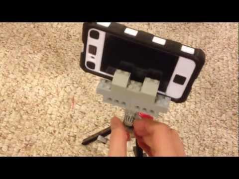 Lego iphone tripod