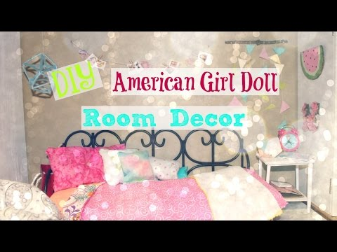 DIY American Girl Doll Room Decor 2016!